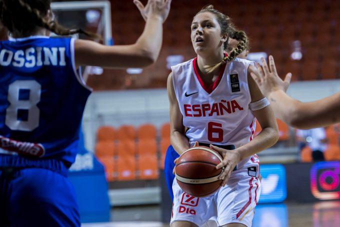 España cae ante Italia en cuartos del Europeo Sub-16: 22 puntos sin premio de Helena Pueyo