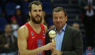 El Chacho, MVP tras un solo entreno con el CSKA: pero pierden la Gomelsky Cup (Vídeo)