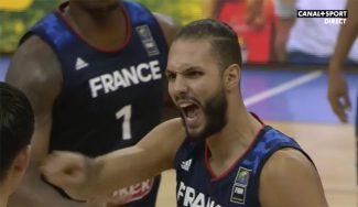 Eslovenia desquicia a Francia: expulsan a Fournier por encararse con un árbitro (Vídeo)