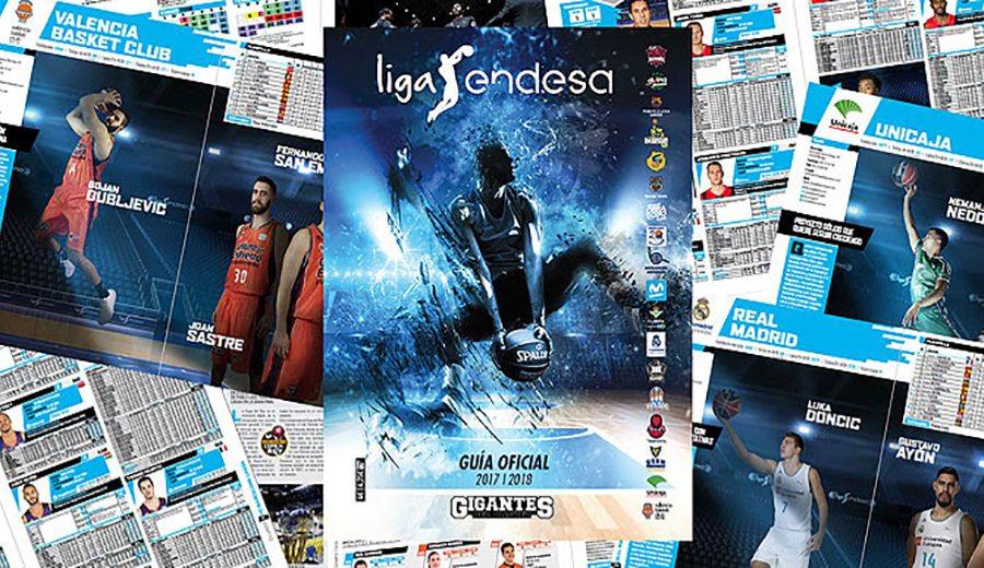 Calienta motores para la ACB 17-18: Vuelve la Guía de la Liga Endesa, editada por Gigantes