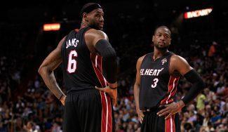"""LeBron, como un niño en el cole con el fichaje de Wade: """"Es uno de mis mejores amigos"""""""