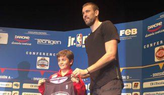 Marc Gasol, invitado de lujo en el draft de la III Liga Jr NBA FEB en Cataluña