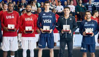 Campazzo y Cruz, Mejor Quinteto AmeriCup: Facu es Top-5 y Paco gana el bronce (Vídeo)