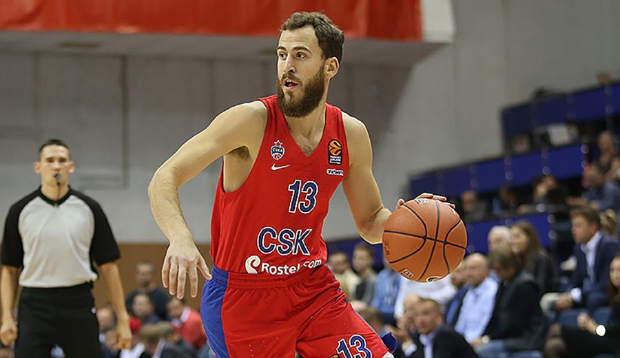El Chacho ya brilla con el CSKA: debuta como máximo asistente y segundo anotador (Vídeo)