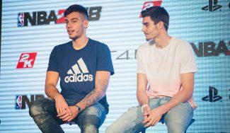 Presentado el NBA2K18 con Willy y Juancho Hernangómez como embajadores