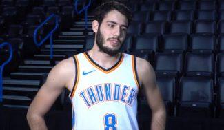 Abrines olvida la lesión y vuelve a sonreír con los Thunder: divertida entrevista personal