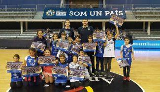 ¡Ánimo Beqa! Sorpresa en el 3×3 at School de Andorra al lesionado Burjanadze (Vídeo)