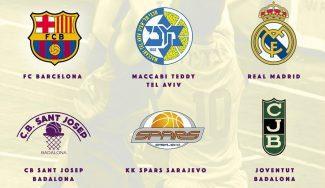 El Sant Josep de Badalona organiza el Torneo Internacional Cadete: mira equipos y horarios