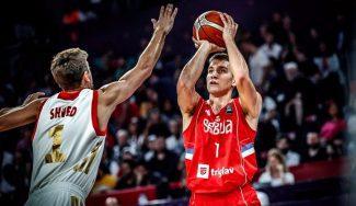 Shved se sale pero Bogdanovic lleva a Serbia a la final: taponazo de Marjanovic (Vídeo)