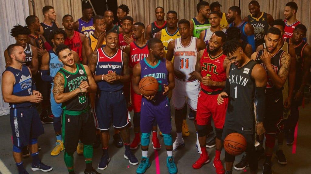 Un ex ACB, en la espectacular presentación de las nuevas equipaciones de la NBA (Vídeo)