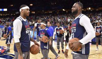 ¿Compañero de LeBron? Carmelo amplía su lista de destinos apetecibles si deja los Knicks