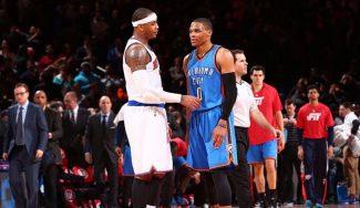 Los Knicks mandan a Carmelo a los Thunder: se llevan a cambio competencia para Willy