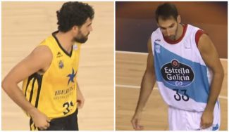 Beirán y Corbacho dejan atrás sus lesiones: las primeras canastas y sus palabras (Vídeo)