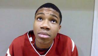 """Me gustan Magic Johnson y Durant"" Así era Giannis Antetokounmpo con 18 años (Vídeo)"