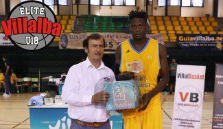 Biram Faye domina el Torneo Elite Villalba: MVP promediando 40 de valoración (Vídeo)