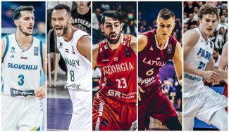 'La Navarrería'. Repaso y quinteto de Jose Ajero de la fase de grupos del Eurobasket