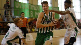 Una perla del Betis llega cedida al Araberri: así juega el alero croata Leo Cizmic (Vídeo)