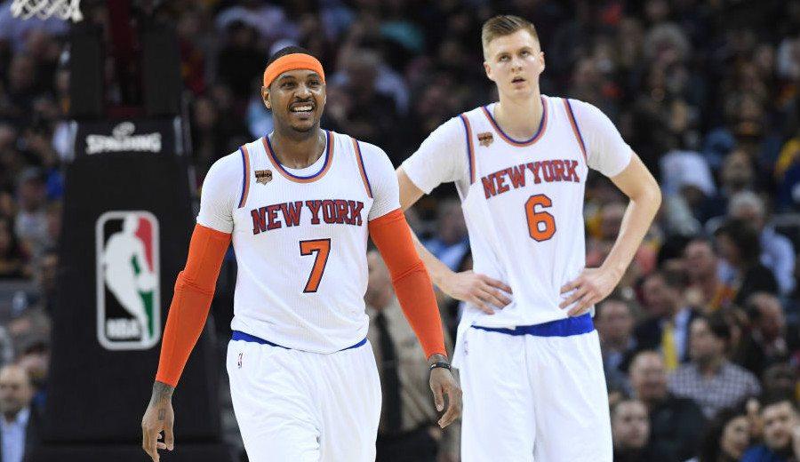 Porzingis se despide de Carmelo, asume sus galones de los Knicks y explica su relación