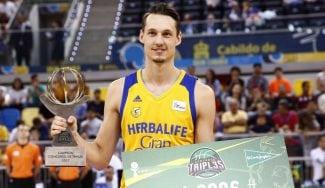 Eriksson gana a Redivo en la final y destrona a Carroll como mejor triplista ACB (Vídeos)