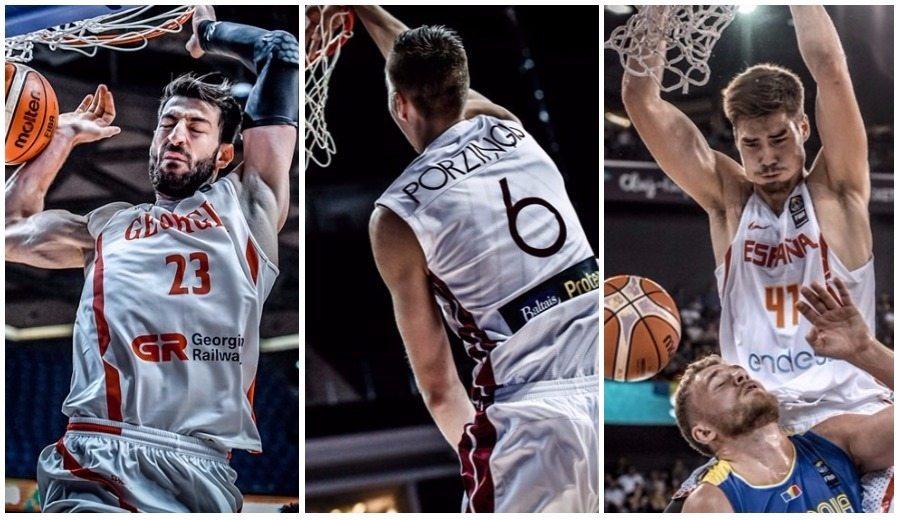 Shengelia, Porzingis, Juancho, Markkanen… Los mejores mates del Eurobasket (Vídeo)
