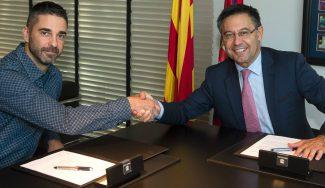 El Barça renueva a Navarro por 10 años: al final del curso decidirán si sigue jugando
