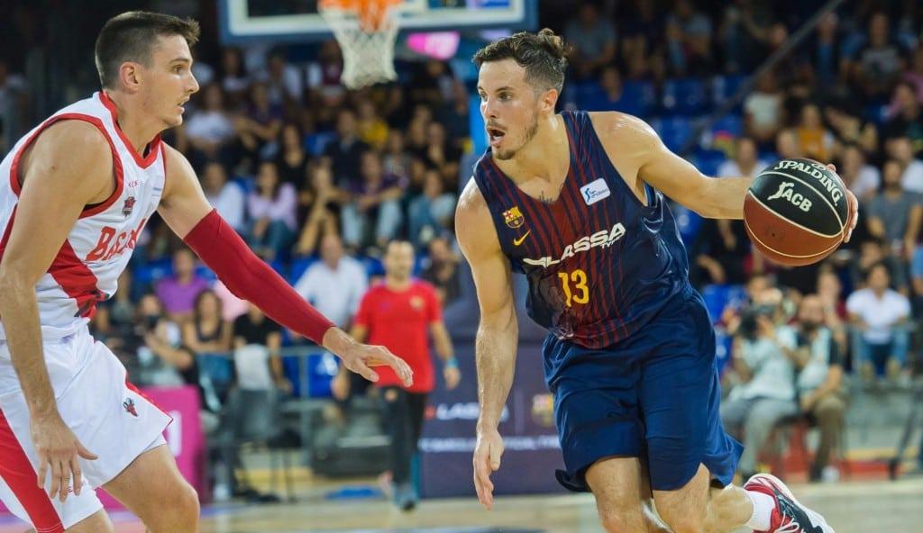 El Barça gana al Baskonia en el duelo de los ex: Heurtel se desata con 23 puntos (Vídeos)