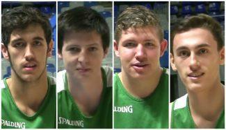 Conoce a los cuatro canteranos del Unicaja en la pretemporada con el primer equipo (Vídeo)