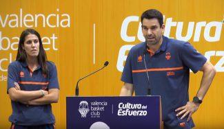 Los consejos de Rafa Martínez y Leles Muñoz a la cantera taronja en el estreno de L'Alqueria