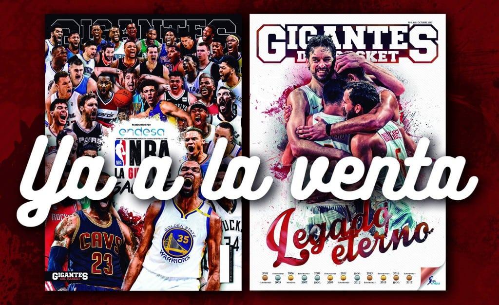 ¡2 en 1! EuroBasket y NBA. Tu Gigantes, con un Extra especial: Guía NBA de 100 páginas