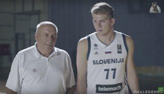 Doncic conoce a Daneu, la leyenda eslovena que le metió 45 puntos al Madrid (Vídeo)
