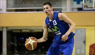 Triple-doble de Andriy Grytsak con el filial del Estu: puntos, rebotes… y recuperaciones
