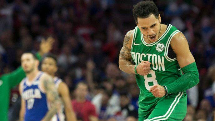 Larkin, decisivo en el triunfo de los Celtics: mira el triple clave del ex Baskonia (Vídeo)