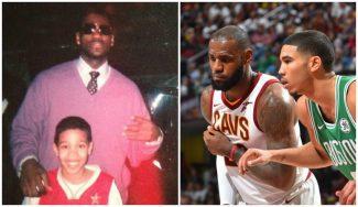 El pasado 'fan' de Jayson Tatum: mira su foto con LeBron y lo que le pidió hace 5 años
