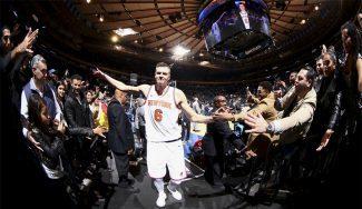 «Es dinamita». Porzingis se pone a la altura de Jordan con su mejor partido en la NBA (Vídeo)