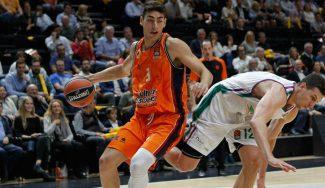 Josep Puerto ya anota en Euroliga con el Valencia: mira su partido ante el Unicaja (Vídeo)