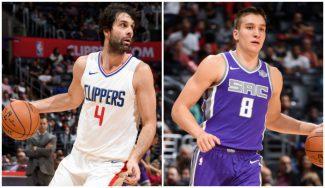 De la F4 a la NBA: Milos brilla y Bogdanovic se lesiona en su primer duelo en USA (Vídeo)