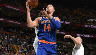 Willy responde en la pista: a punto por minuto en la derrota de los Knicks en Boston (Vídeo)