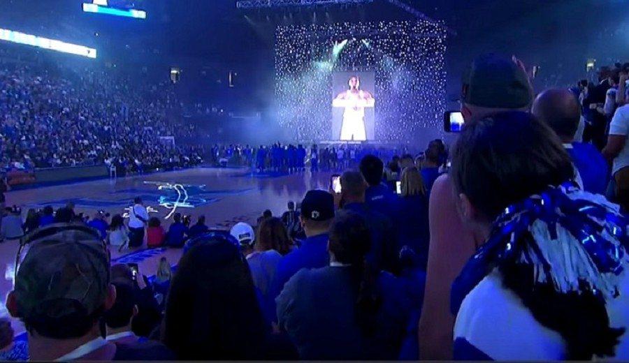 NCAA: la actual campeona y Kentucky se presentan ante su público con espectáculo