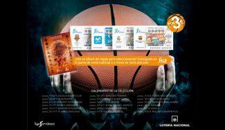 La Liga Endesa, protagonista de la Lotería Nacional. Consigue el álbum con tu Gigantes