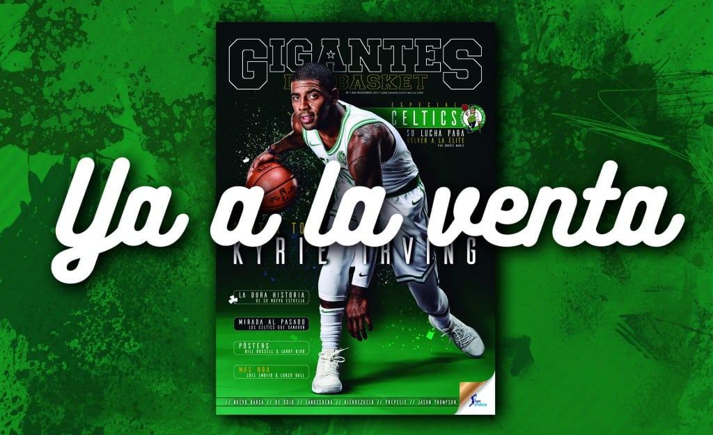 Gigantes se tiñe de verde. Los Celtics e Irving protagonizan el número de noviembre