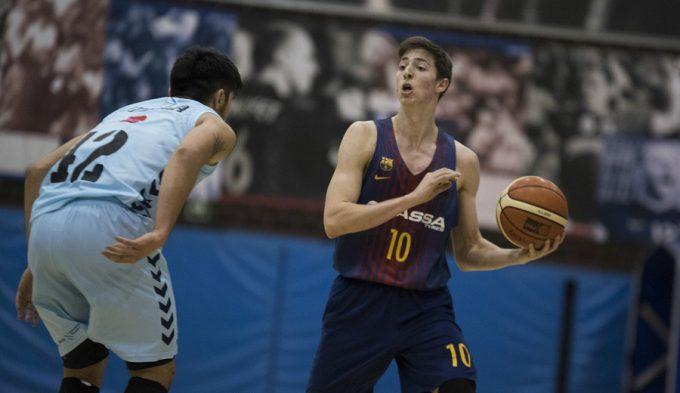 Aleix Font se presenta al Draft de la NBA 2019