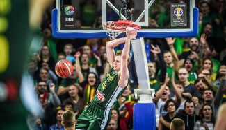 """Bendzius se reivindica con show en Lituania: """"Demostramos ser el primer equipo"""" (Vídeo)"""