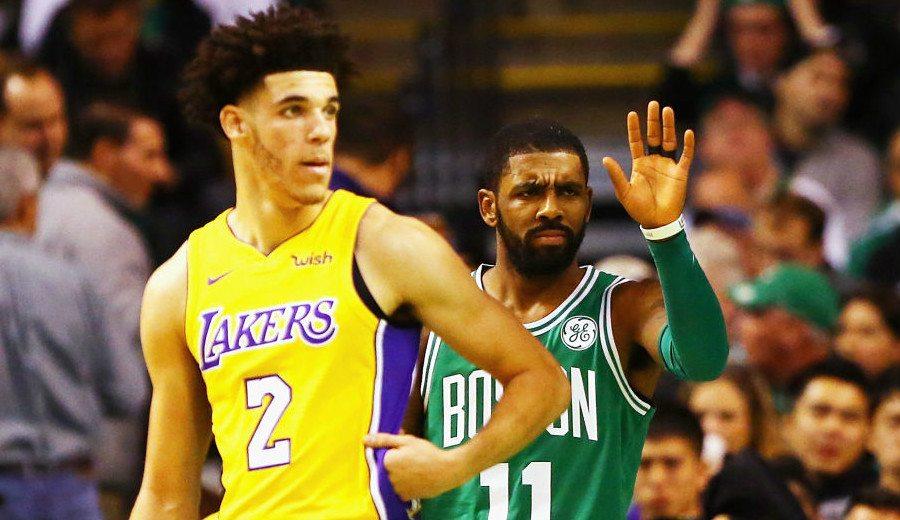 Boston sigue su racha ante los Lakers de Ball: el Garden le pita y un rival le defiende (Vídeo)