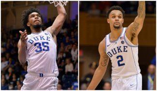 Dos de las nuevas estrellas que pule 'Coach K' brillan antes del inicio de la NCAA (Vídeo)