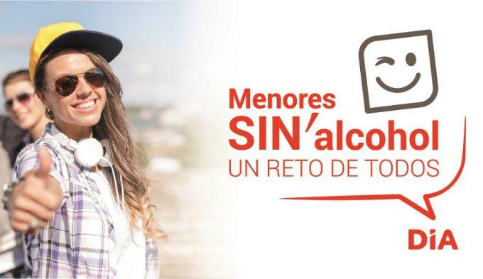 """DIA, patrocinador FEB, lanza la iniciativa """"Menores sin alcohol, un reto de todos"""""""
