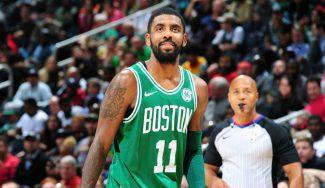 Irving reina en el duelo europeo con sabor a nostalgia: novena seguida de Boston (Vídeo)