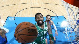 Un decisivo Irving lidera la remontada de los Celtics en Oklahoma: inicio histórico (Vídeo)