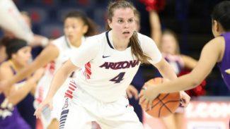 Lucía Alonso, protagonista en Arizona: iguala su récord anotador en la NCAA