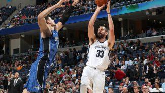 Marc Gasol roza el doble-doble en la derrota ante el mejor equipo NBA: 22 puntos (Vídeo)