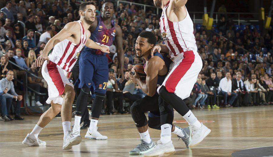 El Barça corta su mala racha con paliza al Olympiacos: no quedan invictos en Euroliga